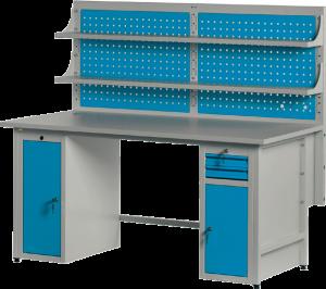 Biurko komputerowe BK1551 - KELS - Producent mebli metalowych