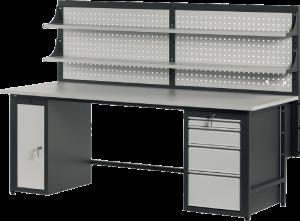 Biurko komputerowe BK2001 - KELS - Producent mebli metalowych