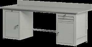 Biurko komputerowe BK2002 - KELS - Producent mebli metalowych